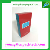 Rectángulo de papel de encargo de empaquetado de Kraft del rectángulo del regalo