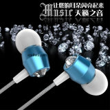 Factory Supplier Fashion Rope Braided Cable in-Ear Stereo Earphones with Mic