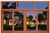 Алюминиевая раздвижная дверь сползая окна