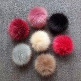 Accessorio dei capelli di fascino del sacchetto del telefono delle cellule di Keychain della pelliccia di modo delle donne