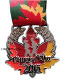 Kundenspezifische Andenken-Medaille für halbes Marathon, Polizei, Liga