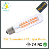 Stoele T10 / T32 6W regulable Edison Bulbos tubulares de luz LED