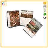 Календар оптовой продажи офсетной печати высокого качества изготовленный на заказ