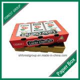 Cadre de empaquetage de carton de cerise ondulée enduite de fruit de cire