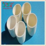 Tubo de cerámica del tubo del alto del alúmina alúmina de gran tamaño de la materia prima