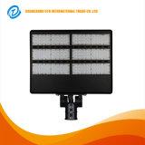 2017 la venta caliente IP65 solar impermeabiliza el alumbrado público ajustable de la viruta 300W LED de Bridgelux Epistar del CREE del brazo