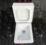 Banheiro Ceramic Rose Red Color One-Piece Toilet