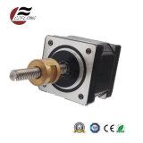Pequeño motor de escalonamiento del ruido 35m m de la vibración para la materia textil de costura del CNC