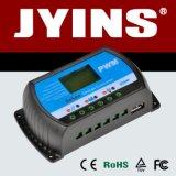 Carregador do indicador 12V/24V/48V 10A/20A/30A PWM do LCD/controlador solares inteligentes da carga