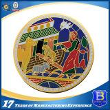 Монетка металла Las Vegas цветастой мягкой эмали выдвиженческая (Ele-C129)