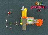 Jogos ao ar livre do equipamento do campo de jogos do balanço e da corrediça da alta qualidade (KP-B308)