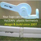 Trabajo plástico del encofrado de la acera del jardín más rápidamente, coste menos, peso ligero, reutilizable