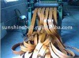 Correia de transmissão lisa com lona elevada do algodão para todos os tipos do transtorte de papel da movimentação