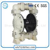 Luft-pneumatische doppelte Membranvakuumpumpe für chemische Industrie