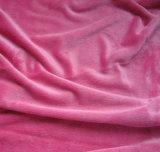 Körper gefärbtes super weiches Samt-Polyester-Gewebe für Sofa