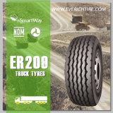 neumático salvaje del carro de los neumáticos del país de los neumáticos del funcionamiento 295/80r22.5 con seguro de responsabilidad por la fabricación de un producto