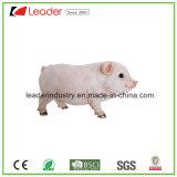 Polyreisn 정원 장신구를 위한 환영받은 표시를 가진 사랑스러운 Wildlike 돼지 작은 조상