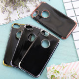 Free Sample New Plating TPU Cell Phone Case Acessórios para telefone