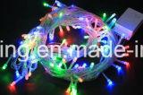 Helle Zeichenketten des Weihnachtenled