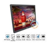 4: 3 resolución 1024*768 LCD Digital Photoframe 15 pulgadas con el sensor de movimiento