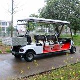 Chariot électrique de transport de 6 Seater avec le cadre arrière de cargaison