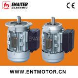 단일 위상 전기 모터를 수용하는 비동시성 알루미늄