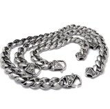 De klassieke Punk Vrije Vervorming van de Juwelen van het Roestvrij staal van de Armbanden van de Link van Mensen 316L