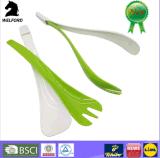 De hete Verkopende Promotie Kleurrijke Plastic Vork van de Salade
