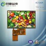 4.3 индикация модуля дюйма ориентированная на заказчика TFT LCD с панелью касания