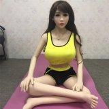 muñeca flaca del sexo del 165cm, muñeca del sexo de Japón para la muchacha del sexo de los hombres 18