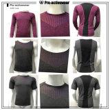 Camisa feita sob encomenda do t-shirt orgânico relativo à promoção T do algodão da impressão de Digitas do homem