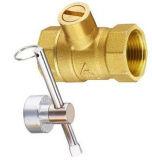 Válvula de esfera de bronze sem chumbo das vendas (EM-V-73)