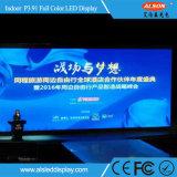 Pantalla de visualización de alquiler de interior de LED de P3.91 HD para la etapa