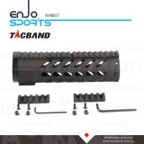 Carbon Fiber Composite (CFC) Keymod 7 pouces Handguard Rail Free Float avec Picatinny Top Rail Black