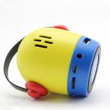Petits haut-parleurs sans fil stéréo de Bluetooth de mini personnage de dessin animé portatif créateur