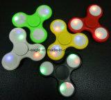 Hilandero de la mano de las personas agitadas del juguete de la persona agitada del hilandero de la mano del hilandero LED de la persona agitada del LED para el autismo y Adhd