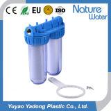 Double filtre d'eau claire de boîtier pour l'usage à la maison