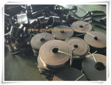 ISO9001 Bescheinigung für schwarzes GummiSkirtboard, Gummistreifen