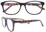 De nieuwste Glazen van het Frame Eyewear van het Frame van het Schouwspel van de Manier van het Frame van de Glazen van de Acetaat van het Ontwerp Optische Nieuwe Model