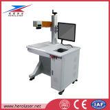 Máquina quente da marcação do laser da fibra do cartão da marcação de Samlight da venda para três artigos da dimensão