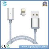 Câble multi magnétique tressé de transfère des données de chargeur du nylon universel USB