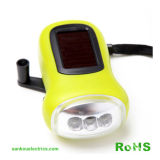 ダイナモSolar Flashlight With 3LEDs (LD-2014)