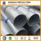Tubo d'acciaio galvanizzato tuffato caldo rotondo BS1387