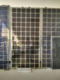 Módulo solar de la cubierta de cristal doble de 18V para el sistema 145W-155W de la azotea