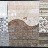 Azulejo de cerámica de la pared de construcción del material de la porcelana impermeable segura de Brown oscuro