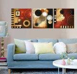 3 قطعة حديثة جدار طبع فنية صورة زيتيّة تجريديّ صورة زيتيّة غرفة زخرفة يشكّل فنية صورة يدهن على نوع خيش منزل زخرفة [مك-250]