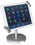 iPad를 위한 Lockable 독립 구조로 서있는 금속 진열대