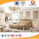Base de couro de venda quente global da mobília do quarto (UL-BH6010)
