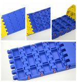 Correia modular plástica do transporte do produto comestível