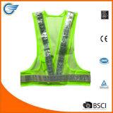 Veste réfléchissante à LED à LED triangulaire avec lumières LED